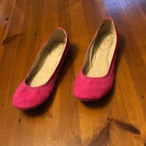 NWT Bandolino Pink Flats